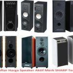 Gambar Speaker Aktif Sharp