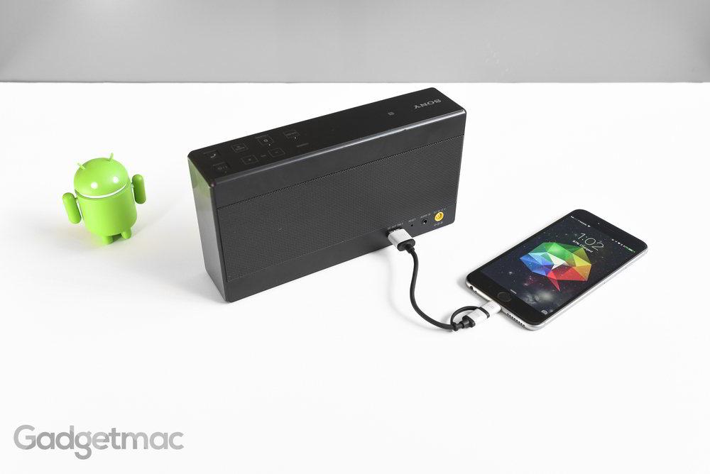 Gambar Sony Portable Wireless SRS X55