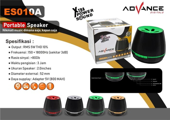 Gambar Speaker Bluetooth Advance