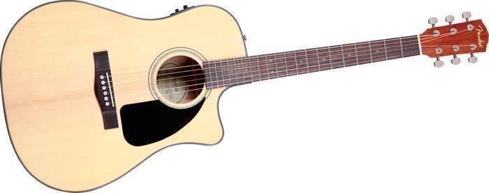 Gambar Gitar Akustik Elektrik Fender CD-60SCE