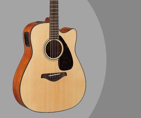 Gambar Gitar Akustik Elektrik Yamaha FGX800C