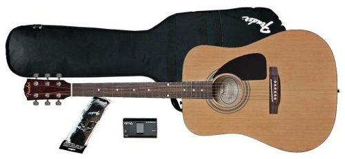 Gambar Gitar Akustik Fender FA-100 Dreadnought