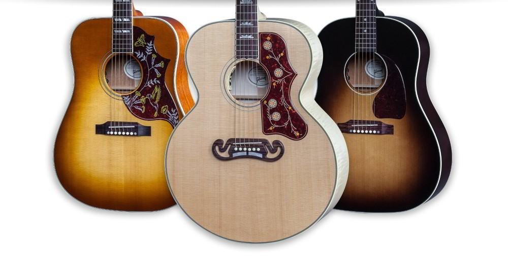 Gambar Gitar Gibson Akustik Terbaru