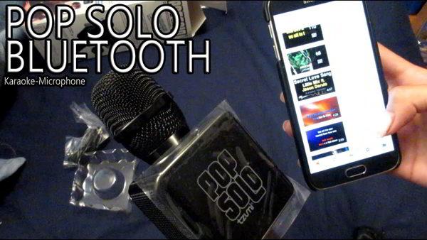 Gambar Mic Popsolo Bluetooth
