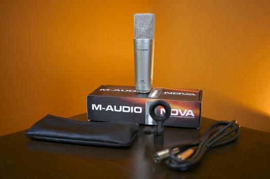 Gambar Microphone M-Audio Nova