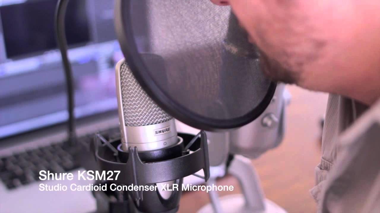 Microphone Shure KSM27