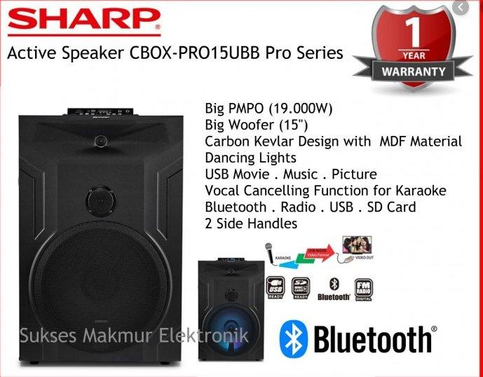 Gambar Speaker Gantung Sharp