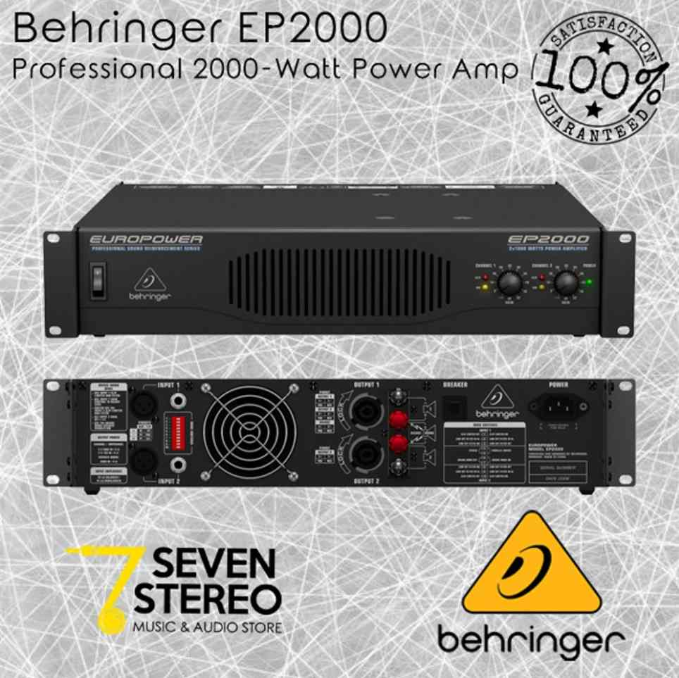 Power Amplifier 2000 Watt Behringer EP2000