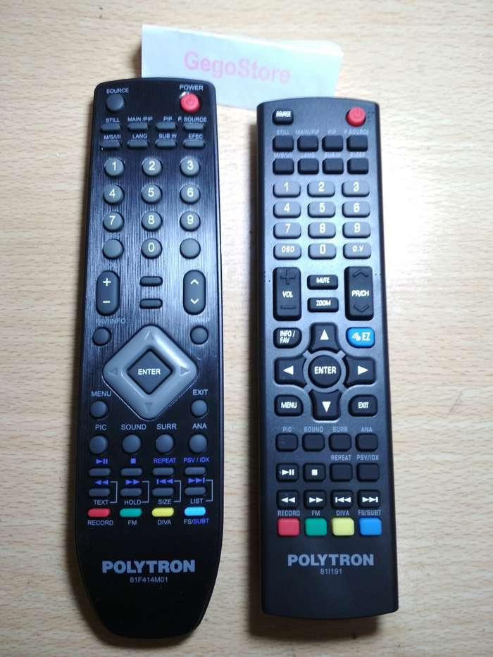 Gambar Remote TV Polytron 81F579M01