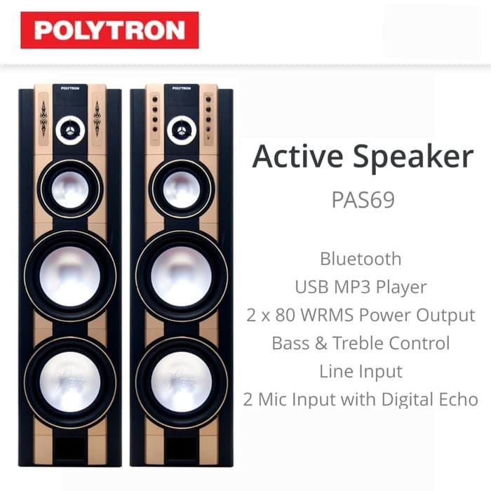 Gambar Speaker Aktif Polytron 69
