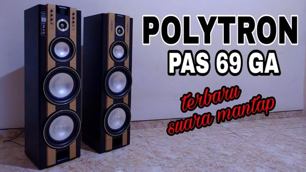 Gambar Speaker Aktif Polytron Pas 68
