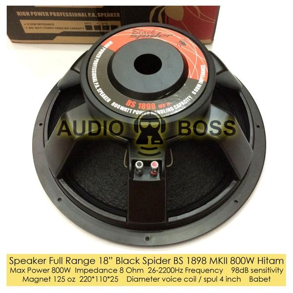Speaker Acr 18 Inch Full Range 1898