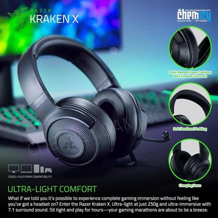 Gambar Headset Gaming Razer Kraken X
