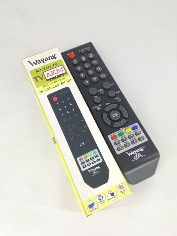 Gambar Remote Tv Akari LED