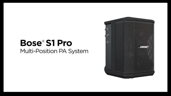 Gambar Speker Bose S1 Pro multi-position PA system