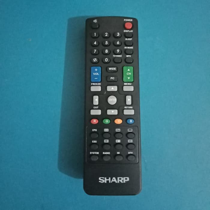 Gambar Remote Tv Sharp LED