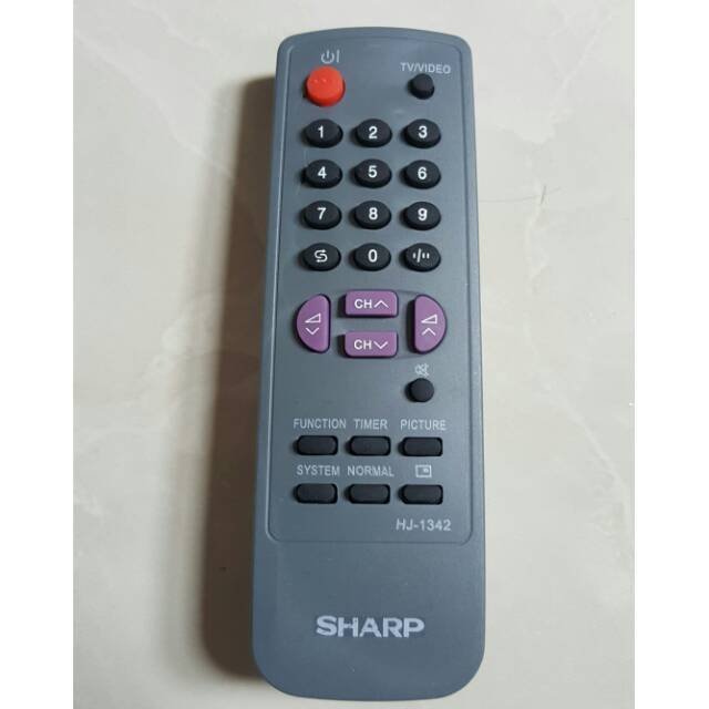 Gambar Remote Tv Sharp Tabung