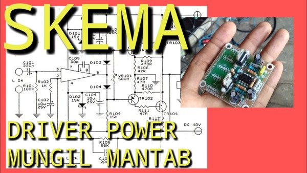 Skema Driver Power Lapangan